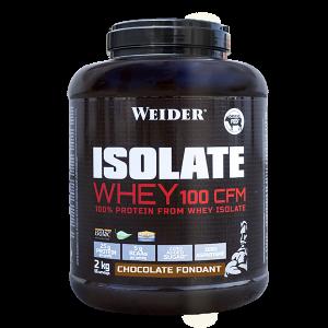 WEIDER Syrovátkový isolát ISOLATE WHEY 100 CFM 100%, 2kg, Jahoda - ice cream