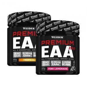 WEIDER Premium EAA Zero směs esenciálních aminokyselin Tropical 325 g