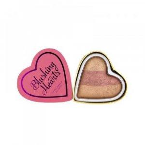Makeup Revolution Srdcová tvářenka - Vášnivé srdce