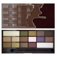 Makeup Revolution Zázračná paletka očních stínů Čokoláda