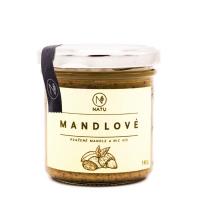 NATU Mandlový krém pražený 140 g