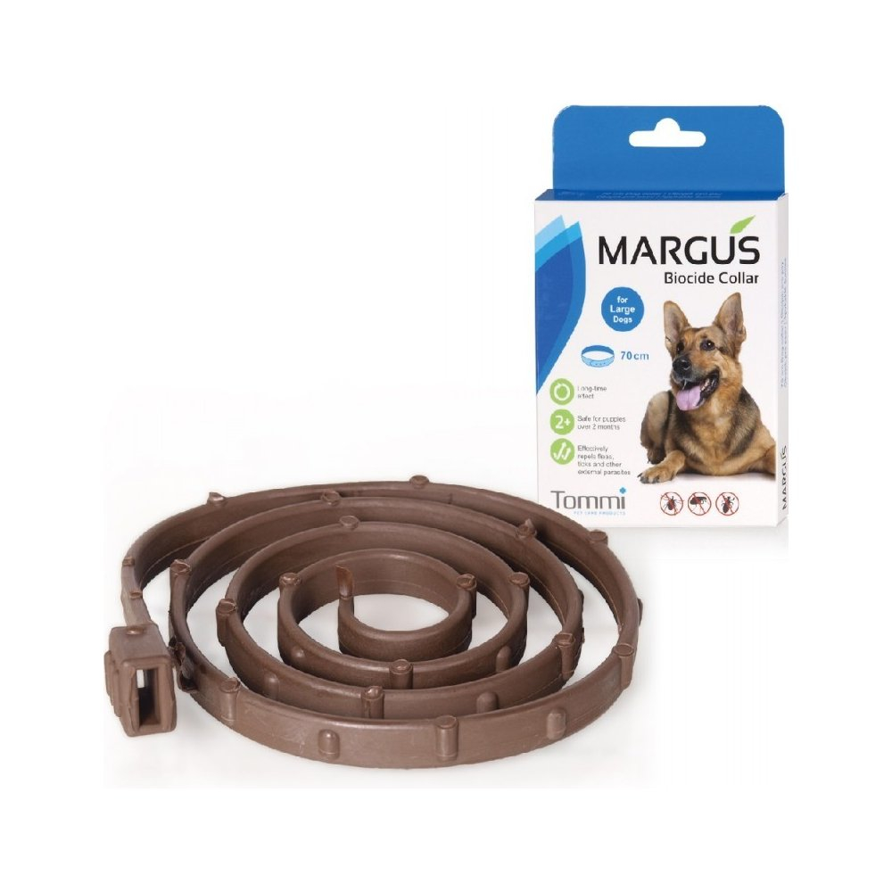 MARGUS Biocide antiparazitární obojek pes L 70cm