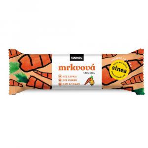 MARKOL Raw tyčinka mrkvová s hruškou 30 g