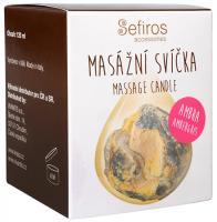 SEFIROS Masážní svíčka Ambra (Massage Candle) 120 ml