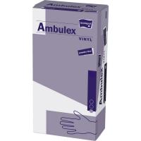 MATOPAT Ambulex Vinyl rukavice vinylové nepudrované L 100 kusů
