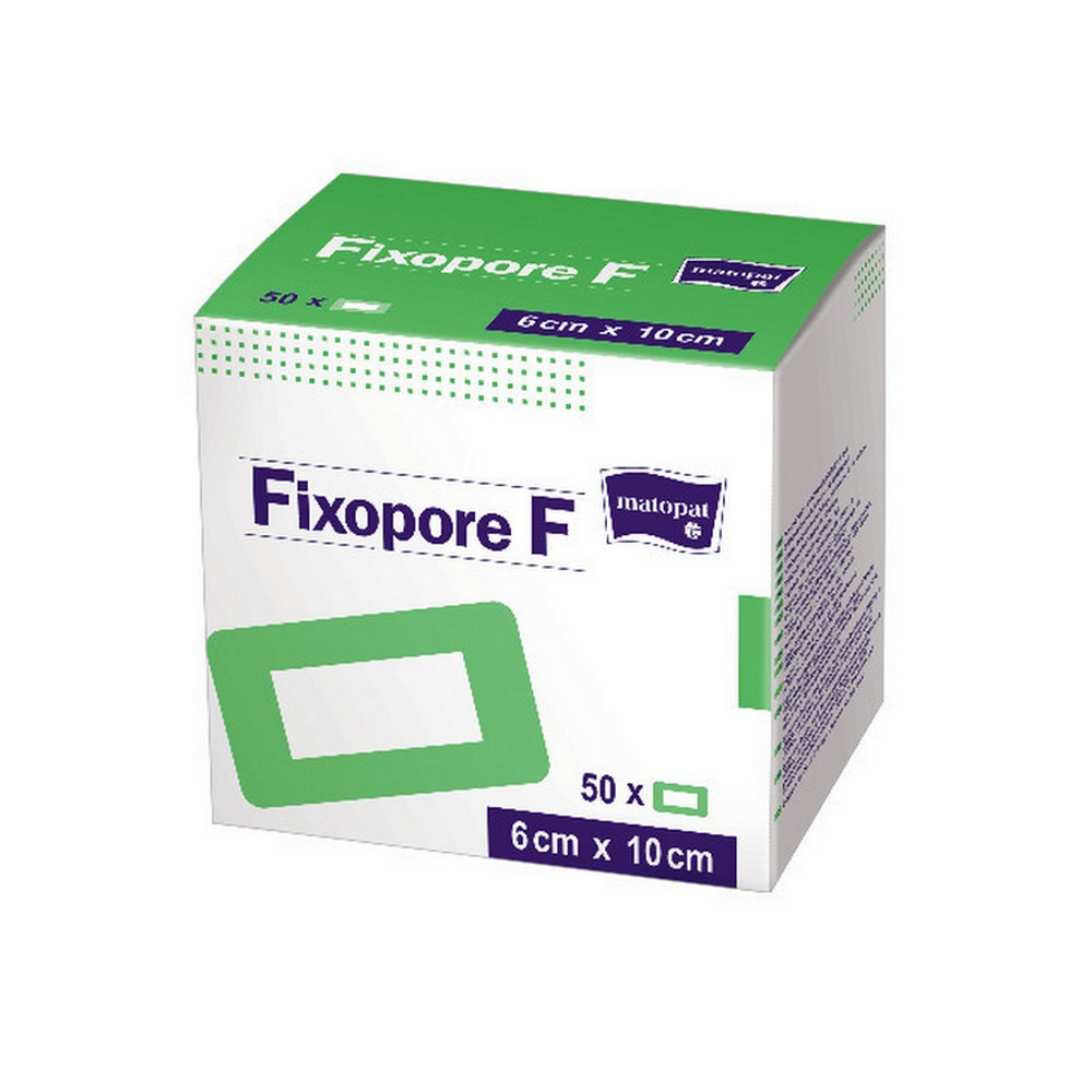 MATOPAT Fixopore F sterilní náplast 5 x 7.2cm 50 kusů