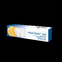 MAXI-KALZ 500 Šumivé tablety 20 ks