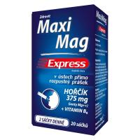 ZDROVIT MaxiMag Express hořčík 375 mg + vitamin B6 20 sáčků