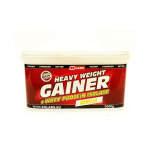 XXLABS Heavy Weight Gainer 3000 g vanilka