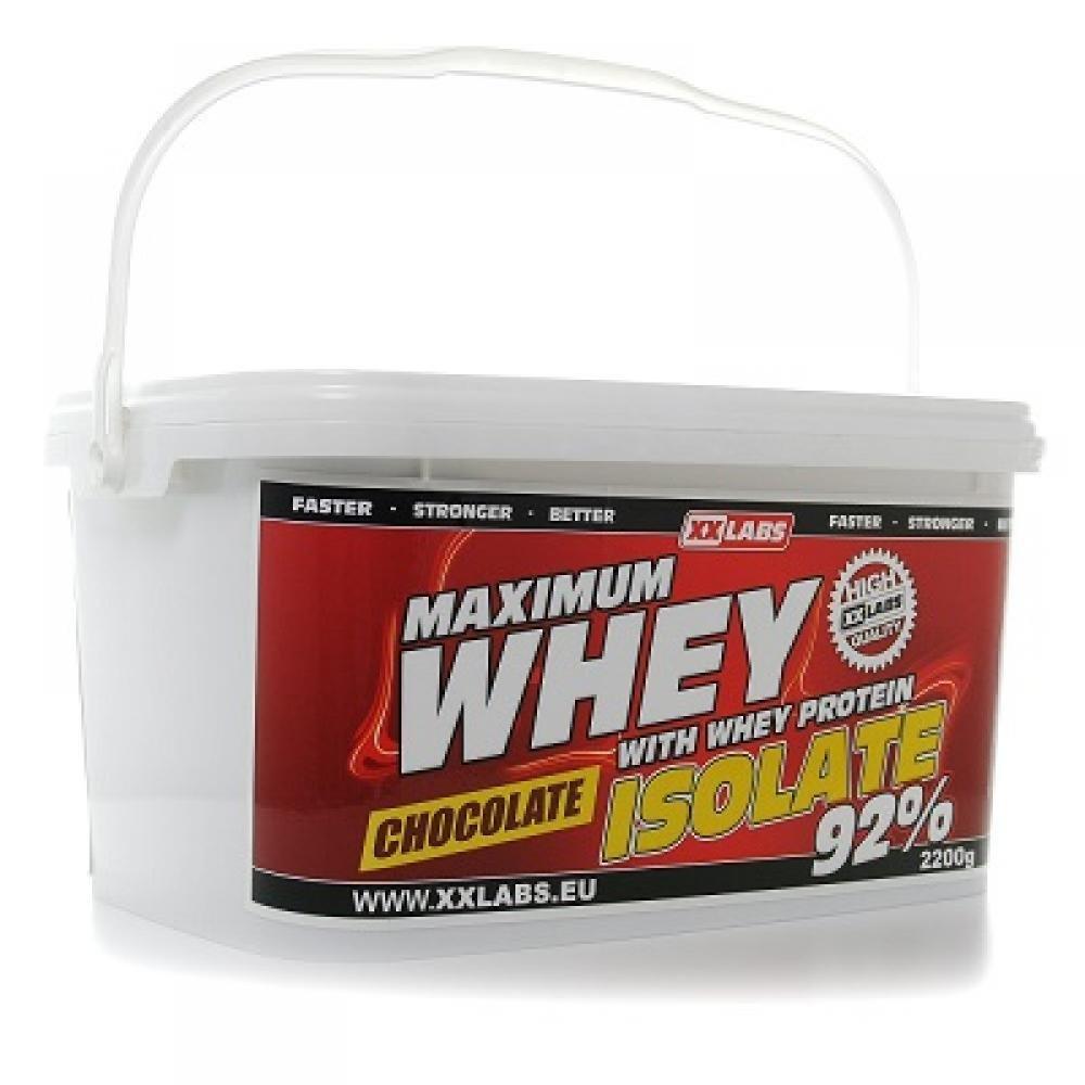 Xxtreme Maximum Whey Protein Isolate 92 2200g