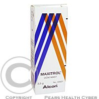 MAXITROL  1X3.5GM Oční mast
