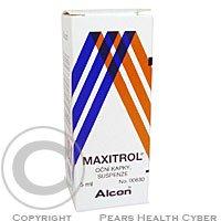 MAXITROL  1X5ML Oční kapky, suspenze