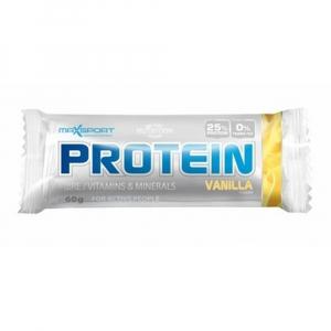 MAXSPORT proteinová tyčinka s příchutí vanilky 60 g