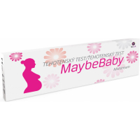 MAYBE BABY Midstream těhotenský test 2v1