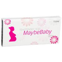 MAYBE BABY Strip těhotenský test 2v1
