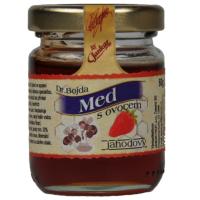 Med s ovocem jahodový 450 g