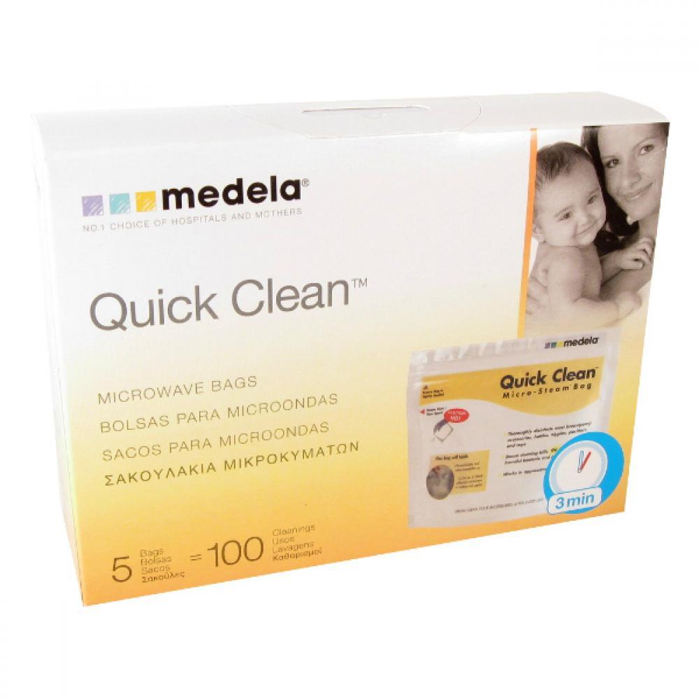 Medela Quick Clean sterilizační sáčky do mikrovlnné trouby 5 ks
