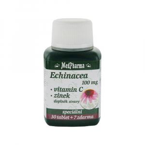 MedPharma Echinacea 100mg+vit.C+zinek tbl.37