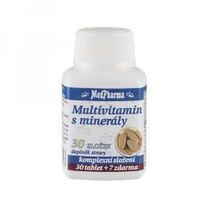 MedPharma Multivitamín s minerály 30 složek tbl. 37