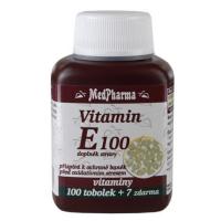 MEDPHARMA Vitamin E 100 100 tobolek + 7 ZDARMA