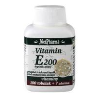 MEDPHARMA Vitamin E 200 100 tobolek + 7 ZDARMA