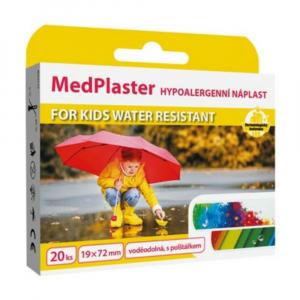 MEDPLASTER Kids water resistant - vodotěsná náplast