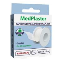 MEDPLASTER Papírová náplast cívka 5 m x1,25 cm