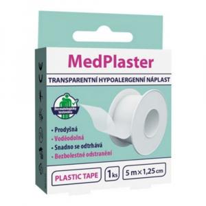 MEDPLASTER Transparentní náplast - cívka