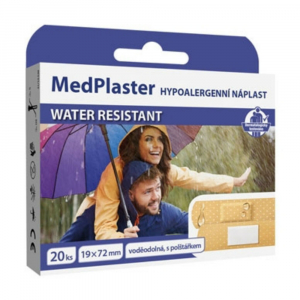 MEDPLASTER Water resistant - vodotěsná náplast