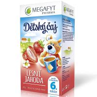 MEGAFYT Dětský čaj lesní jahoda 20 x 2 g