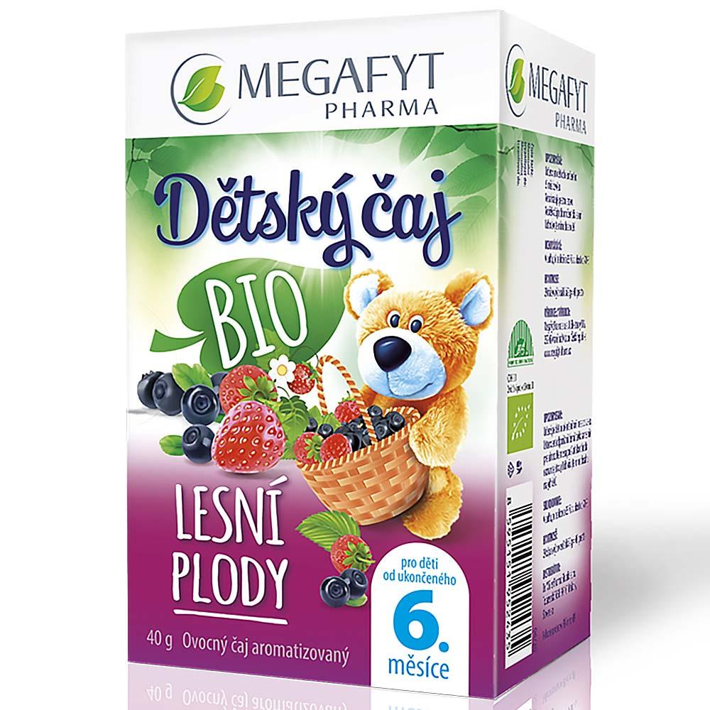 MEGAFYT Dětský čaj lesní plody BIO 20 x 2g