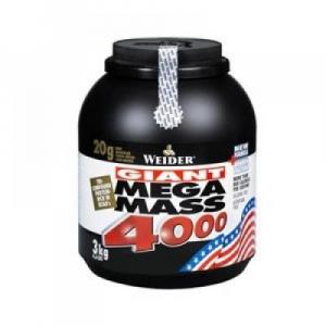 WEIDER Giant Mega Mass 4000 Vanilka 3000 g