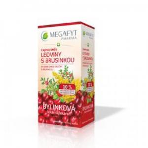 MEGAFYT Čajová směs ledviny s brusinkou nálevové sáčky 20 x 1.5 g