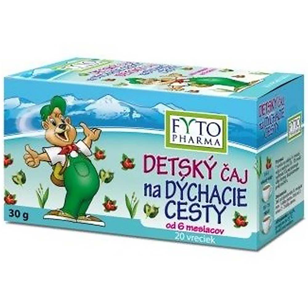 MEGAFYT Dětský čaj na dýchací cesty 20x 1,5 g