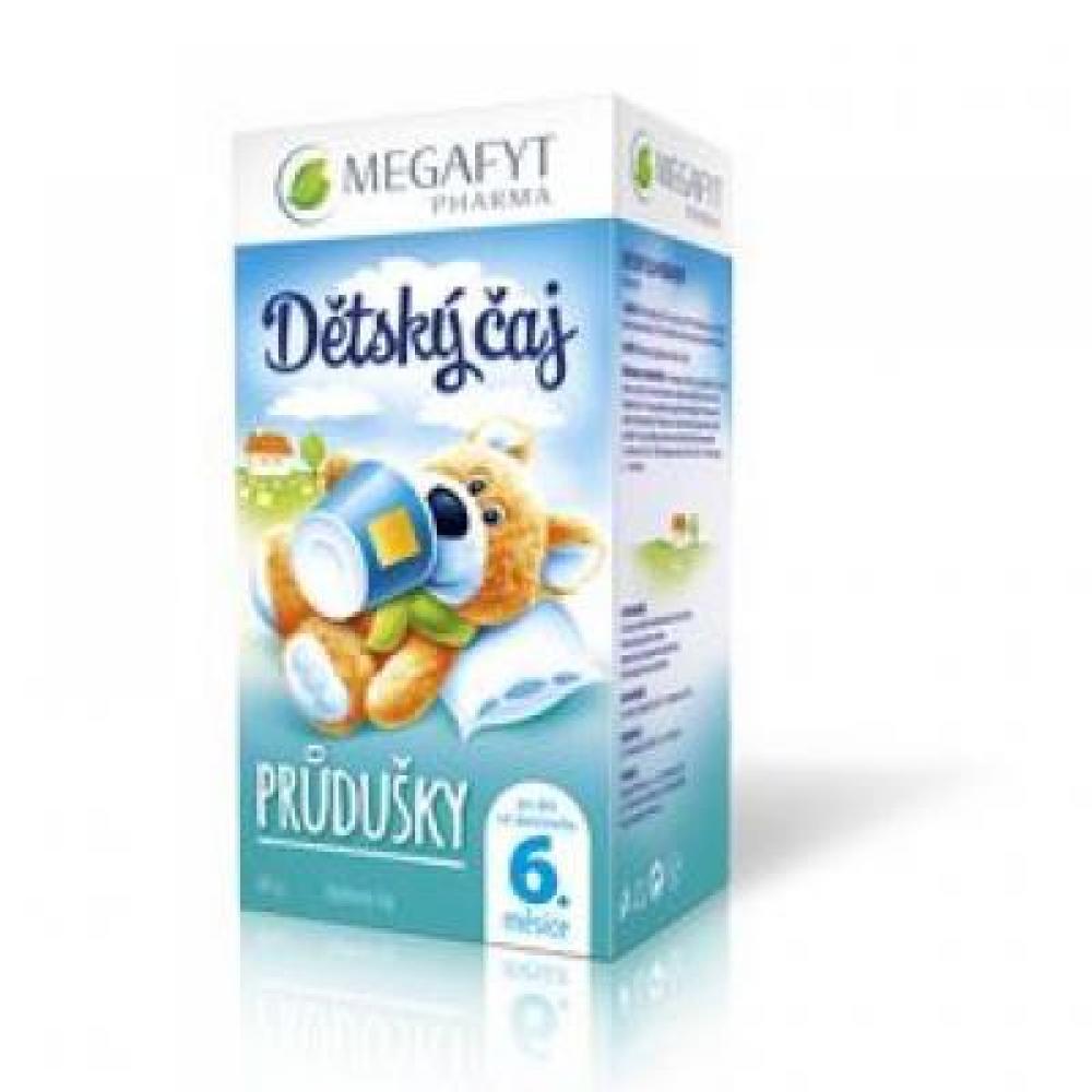 MEGAFYT Dětský čaj průdušky 20 x 2 g