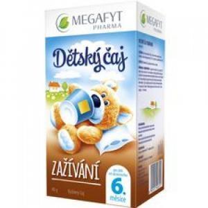 MEGAFYT Dětský čaj zažívání 20 x 2 g