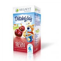 MEGAFYT Dětský ovocný čaj třešeň 20 x 2 g