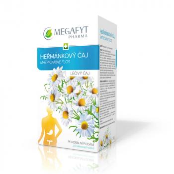 MEGAFYT Heřmánkový čaj porcovaný 20 sáčků