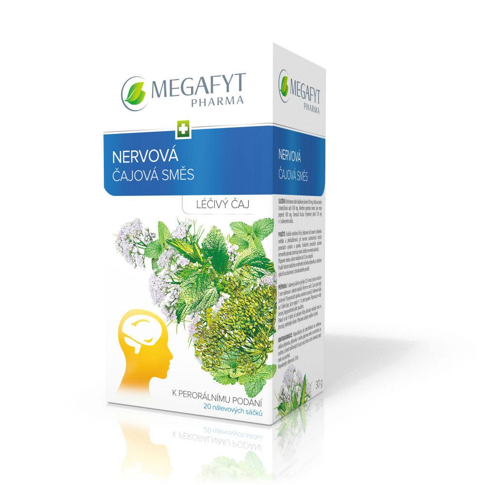 NERVOVÁ ČAJOVÁ SMĚS 20X1.5GM Léčivý čaj