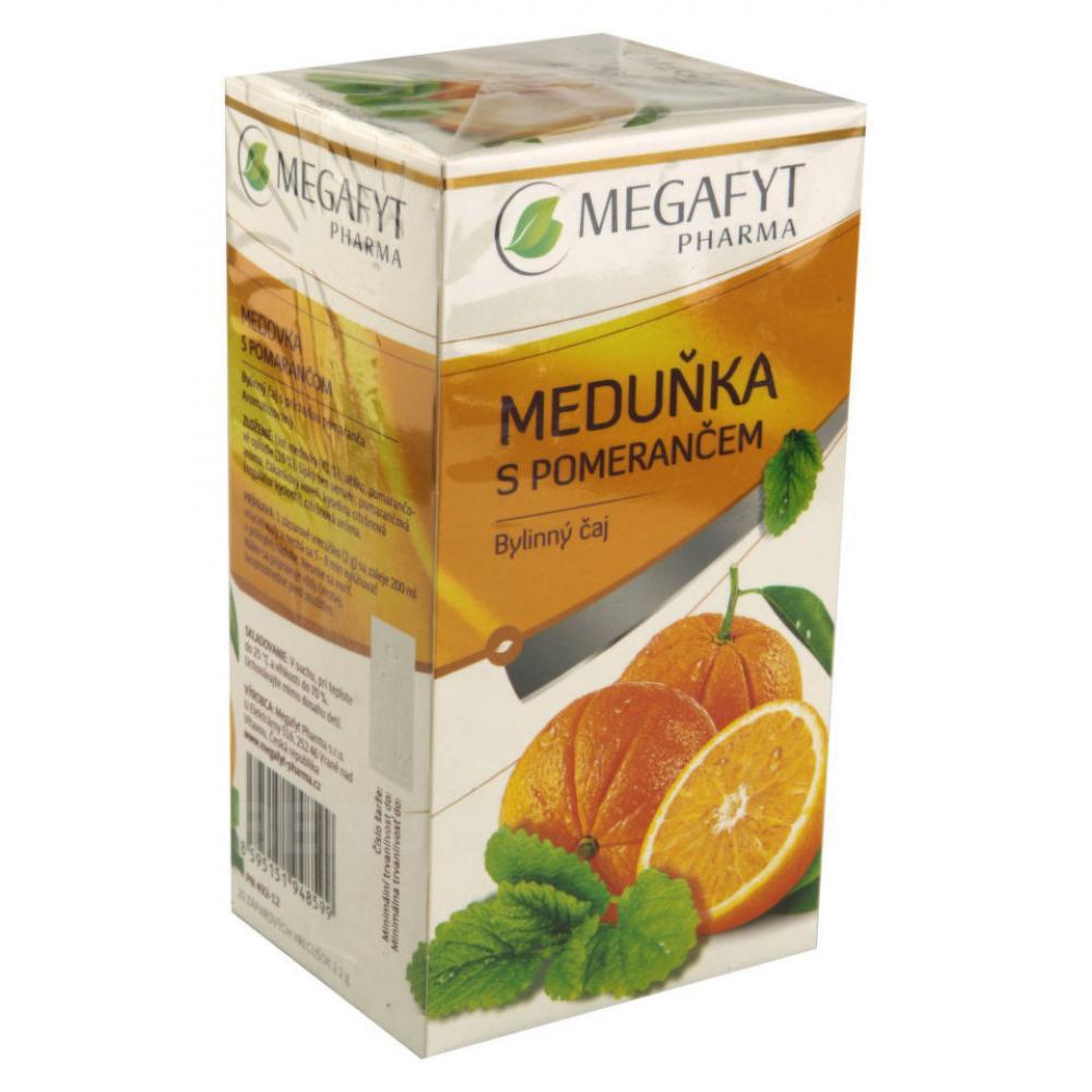 MEGAFYT Ovocný Meduňka s pomerančem 20 x 2 g