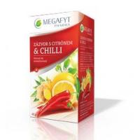 MEGAFYT Ovocný čaj se zázvorem, citrónem a chilli 20 x 2 g
