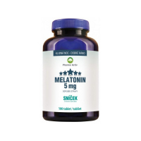PHARMA ACTIV Melatonin 5 mg Sníček 100 tablet