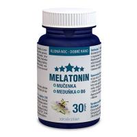 CLINICAL Melatonin Mučenka Meduňka B6 30 tablet