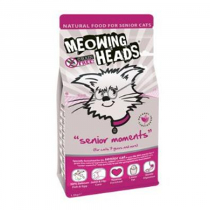 MEOWING HEADS Senior Moments 1.5 kg