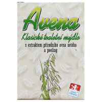 MERCO Avena peelingové mýdlo s extraktem ovsa setého 100 g