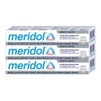 MERIDOL Gum protection Gentle White Zubní pasta pro ochranu dásní a jemné bělení 3x 75 ml