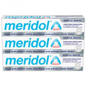 MERIDOL Zubní pasta Gentle White 3x 75 ml