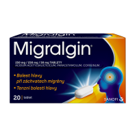MIGRALGIN 250mg 20 tablet