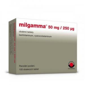 MILGAMMA 100 obalených tablet