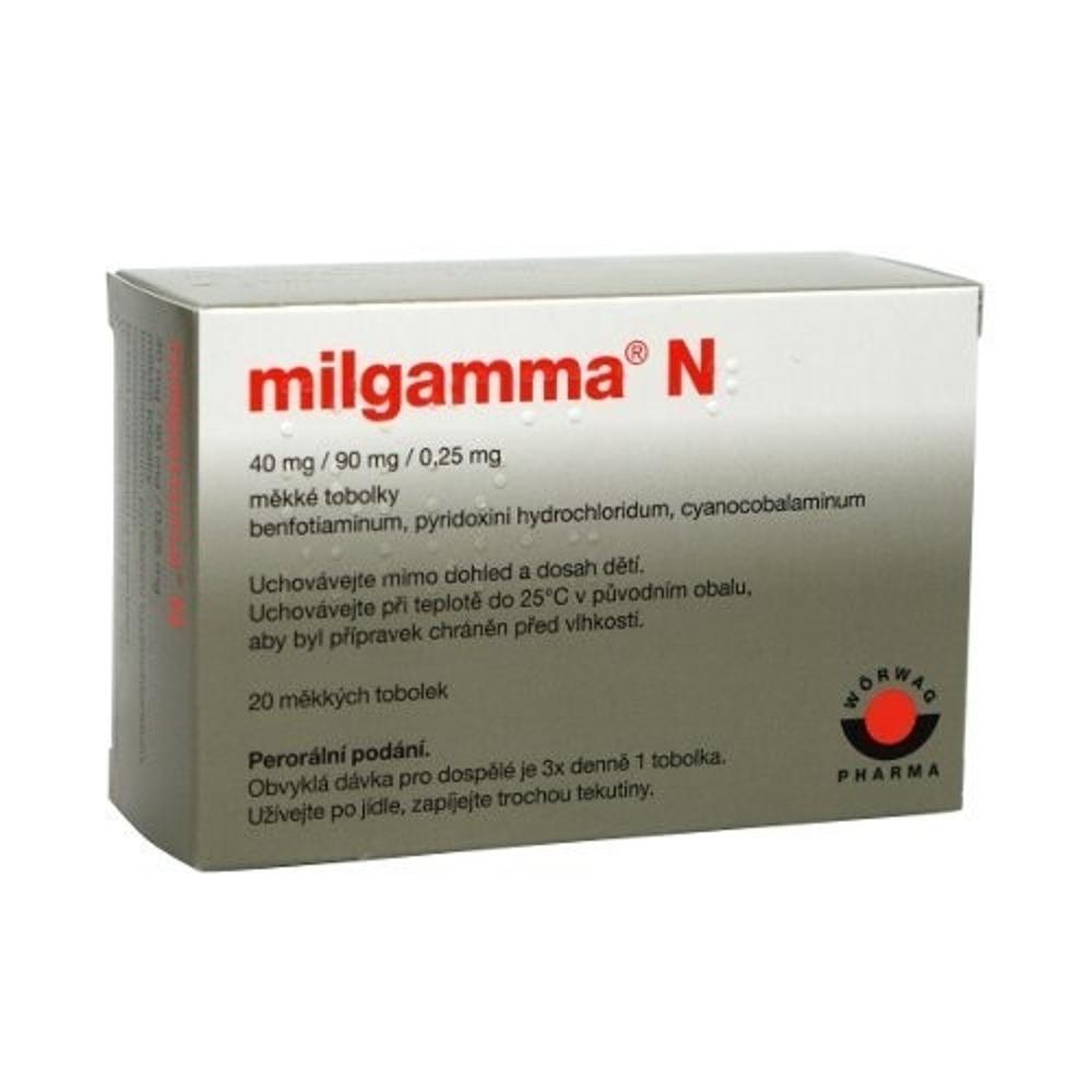 MILGAMMA N 20 Tobolky